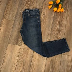 Lands end crop jeans